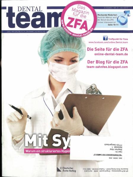 Dental Team - Ausgabe 5 - Juli 2013