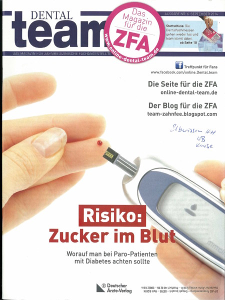Dental Team - Ausgabe 6 - September 2014