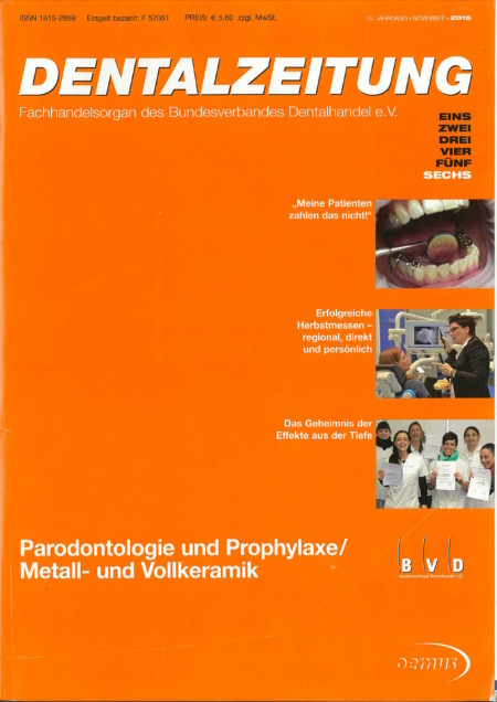 Dentalzeitung - November 2015