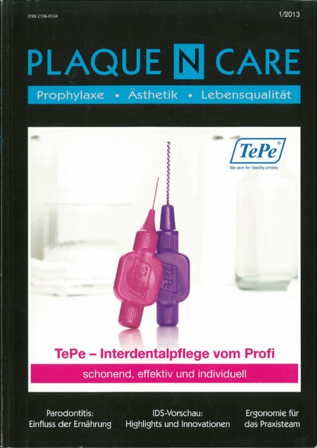 Plaque N Care - Ausgabe 1/2013