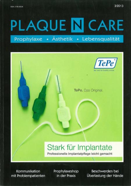 Plaque N Care - Ausgabe 3/2013
