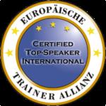Certified Top-Speaker International - Europäische Trainer Allianz